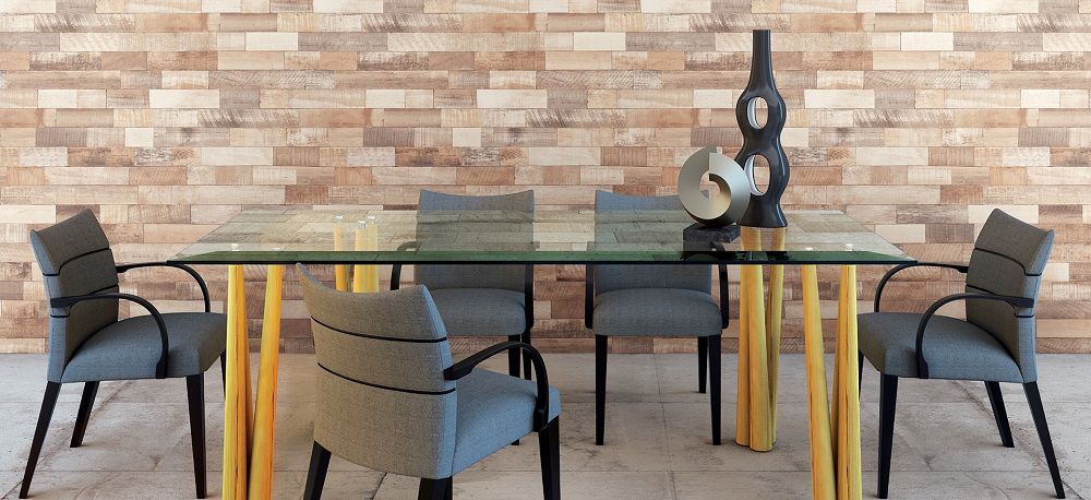 plakfolie country stijl hout