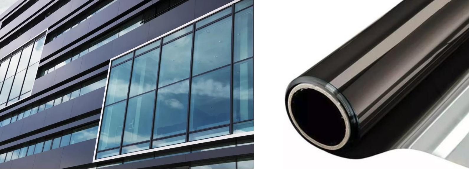 raamfolie voor gebouwen