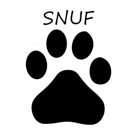 naamsticker hondenpoot plakfolie webshop