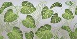 Lineafix statisch raamfolie Palm leafs_