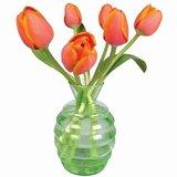 Raamsticker flat flowers tulpen_