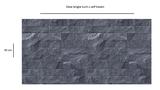 Plakfolie tegels modern antraciet (45cm)_