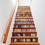 Trapstickers boekenkast (13 stroken)_
