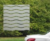 Statisch raamfolie wave golven (90cm)_