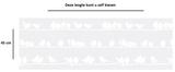 Statisch raamfolie vogels (45cm)_