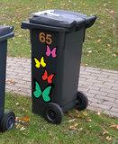 Kliko stickers vlinders_