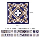 Tegelstickers Royal 24 stuks (10x10cm)_