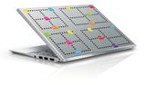 Plakfolie Pacman Arcade Games geborsteld rvs look (60cm)_
