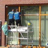 Zonwerend raamfolie voor HR++ glas steel (140cm) _