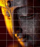 Foto tegelsticker 15x15 'Boeddha sfeer' 105x90 cm hxb_