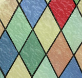 Raamfolie glas in lood (kleuren)_