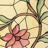 Breed raamfolie bloem 90cm_