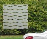Breed statisch raamfolie wave golven (90cm)_