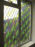 Raamfolie Diamant glas in lood voor HR++ glas_