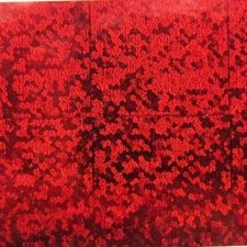 Plakfolie glitter & glamour rood