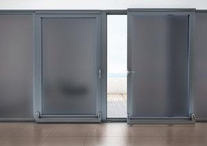 Zonwerende raamfolie statisch 92 cm (Zarame grijs)