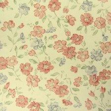 Plakfolie bloemetjesbehang oudroze