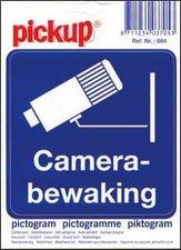 Pictogram sticker Camera bewaking