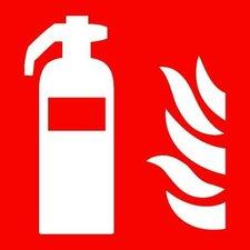 Pictogram sticker Brandblusser