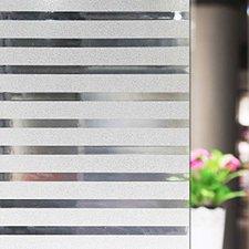 Coupon 300x90cm statisch raamfolie office strepen