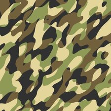 Plakfolie camouflage legergroen (45cm)