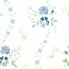 Plakfolie brocant roosje blauw (45cm)