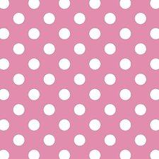 Coupon plakfolie stippen roze 250x90cm