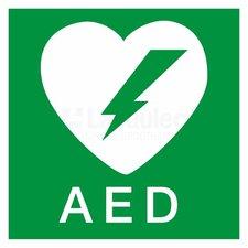 Pictogram sticker AED