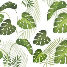 Statisch raamfolie Palm leafs (46cm)
