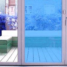 Aslan raamfolie transparant blauw RAL 5017 (125cm)