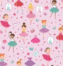Plakfolie ballerina's (45cm)