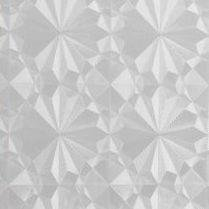 Statisch raamfolie ijsbloemen (45cm)
