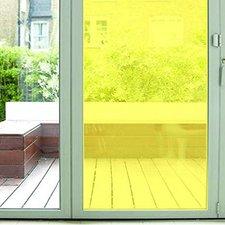Aslan raamfolie transparant geel RAL 1016 (125cm)