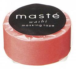 Masking tape Masté neon koraal