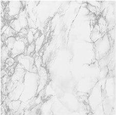 Plakfolie marmer grijs-wit (Leverbaar vanaf week 15) (45cm)