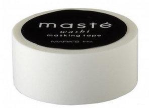 Masking tape Masté wit