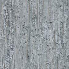 Plakfolie hout met gouden streep mat (122cm breed)