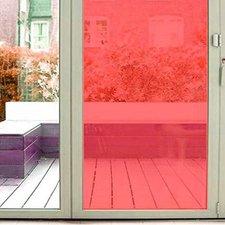 Aslan raamfolie transparant rood RAL 3020 (125cm)