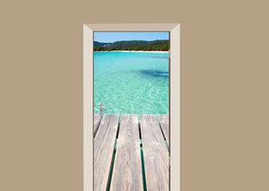 Deursticker kust van Corsica