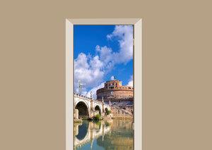 Deursticker Rome Italië