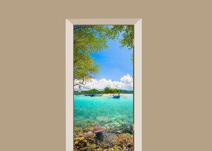 Deursticker koraalrif