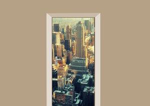 Deursticker New York