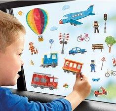 Stickers voor autoraam (vervoer)