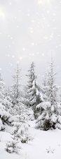 SALE: Deursticker sneeuw 60x205cm (BxL)