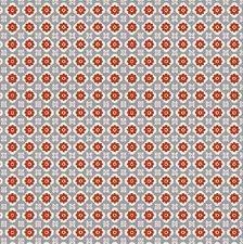 Plakfolie happy flowers rood (45cm)