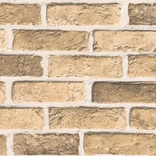 Plakfolie muur zandsteen mat (122cm breed)