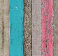 Plakfolie sloophouten planken (90cm)
