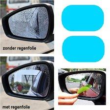Regenfolie voor autospiegels (2 stuks spiegelfolie)