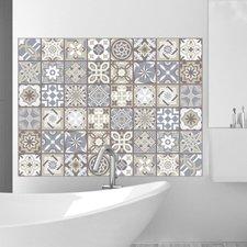 Tegelstickers Spaans kalksteen 12 stuks (20x20 cm)