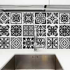Tegelstickers Calli Mediteraans 24 stuks (15x15 cm)